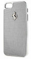 Ferrari iPhone 5 GT Carbon Fiber White Case