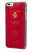 Ferrari 458 iPhone 6/6S Plus Red Leather Case