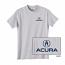 Acura Kids Grey Tee Shirt