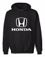 Honda Black Hooded Sweat Shirt