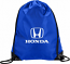 Honda Blue Drawstring Bag