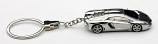 Lamborghini Aventador LP700-4 Chrome Keychain
