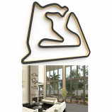 Linear Edge Sakhir Track Wall Art
