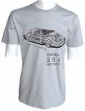 Porsche 356 Speedster Vintage Grey Tee Shirt