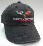 Retro Corvette Racing Grey Hat