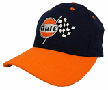 Gulf Racing Navy Logo Hat