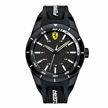Ferrari Red Rev Black-White Watch
