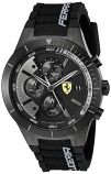 Ferrari Red Rev Evo Black Chronograph