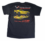 Corvette Racing Z06 Black Tee Shirt