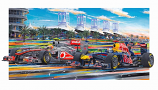 Bahrain F1 Under the Palms Giclee