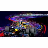 Singapore Sling Sebastian Vettel Canvas Print