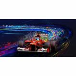 Tango Fernando Alonso Ferrari 2012 Canvas Print