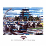 US Grand Prix 2001 Lithograph