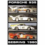 Porsche 935 Sebring 1970 Poster