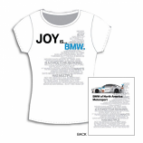 BMW M Ladies White Joy Tee Shirt
