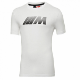 BMW M Puma Carbon White Tee Shirt