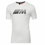 BMW M Puma Carbon White Tee Shirt