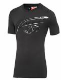 BMW M Puma Statement Black Tee Shirt