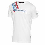 BMW Motorsport Puma Fan White Tee Shirt