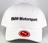 Puma BMW Motorsport White Logo Hat