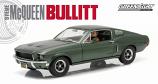 1:18th Ford Mustang Bullitt Steve McQueen Figure 1968