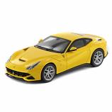 Ferrari F12 Berlinetta Yellow Hotwheels Elite 1:43rd Diecast