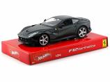 Ferrari F12 Berlinetta Black 1:24th Hotwheels Diecast