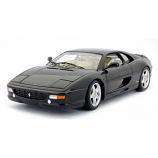 Ferrari F355 Berlinetta Black Hotwheels 1:18th