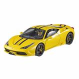 Ferrari 458 Speciale Yellow Hotwheels Elite 1:43rd