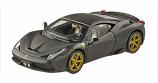 Ferrari 458 Speciale Matte Black 1:43rd Hotwheels Elite