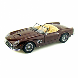 Ferrari 250 California Spyder SWB Brown Hotwheels Elite 1:18th