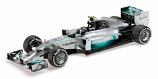 Nico Rosberg Mercedes AMG W05 Petronas Minichamps