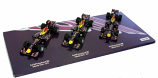 Sebastian Vettel Red Bull Racing 3 Car Champ Set 1:43rd