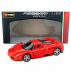 Enzo Ferrari Red Bburago 1:24th