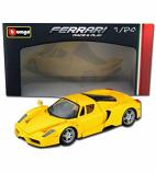 Enzo Ferrari Yellow Bburago 1:24th