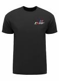 2014 F1 USGP Event Car Black Tee Shirt