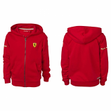 Ferrari Kids Red Hooded Sweat Shirt