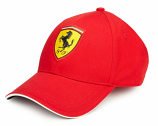 Ferrari Red Shield Classic Hat