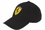 Ferrari Black Shield Classic Hat