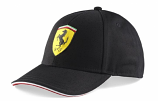 Ferrari Kids Black Shield Hat