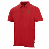 Ferrari Red Classic Shield Polo Shirt