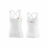 Ferrari Ladies White Shield Tank Top