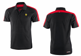 Ferrari Black Sports Polo Shirt