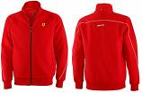 Ferrari Red Shield Zip Sweatshirt
