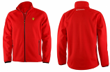 Ferrari Red Shield Fleece Jacket