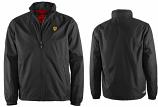 Ferrari Black Shield Windbreaker