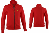 Ferrari Ladies Red Zip Sweatshirt
