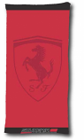 Ferrari Scuderia Red Tone Shield Towel