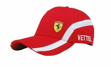 Ferrari Sebastian Vettel #5 Driver Hat