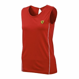 Ferrari Red Ladies Track Top